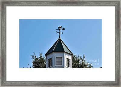 Framed Print featuring the photograph Whatever Direction You Take - Reach For The Sky by Ray Shrewsberry