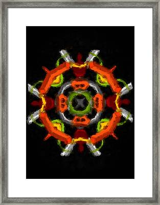 Framed Print featuring the digital art Whatever by Shelley Bain