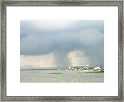 What's Coming? Framed Print