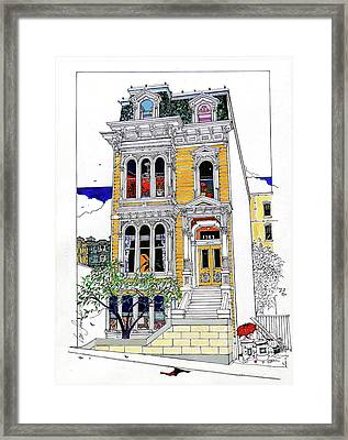 What's In Your Window? Framed Print
