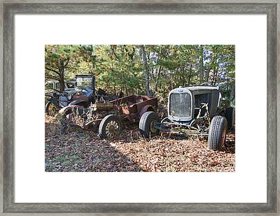 What's Left Of Me Framed Print by Timothy Hedges