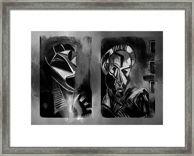 What's That Sound Framed Print by Theresa Campbell