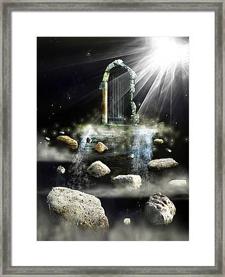 What's The Next Step  Framed Print