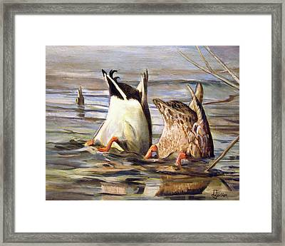 What's Up Framed Print