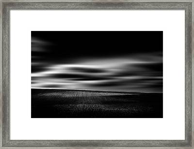 Framed Print featuring the photograph Wheat Abstract by Dan Jurak
