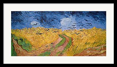 Path Paintings Framed Prints