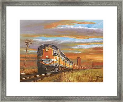 Wheat....from North Dakota Framed Print by Christopher Jenkins