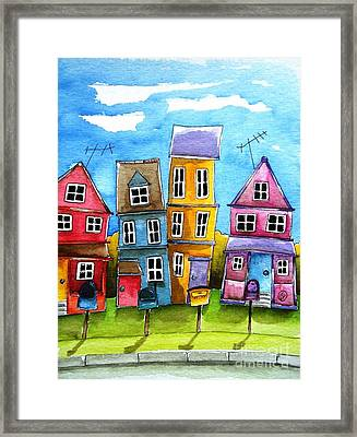 Wheaton Framed Print by Lucia Stewart