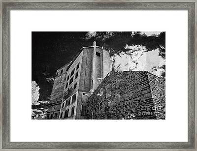 Wheatsworth Mill Framed Print by Jeffrey Miklush