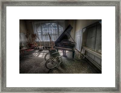 Wheel Music Framed Print by Nathan Wright