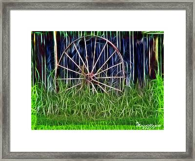 Wheel Of Fortune Framed Print by EricaMaxine  Price