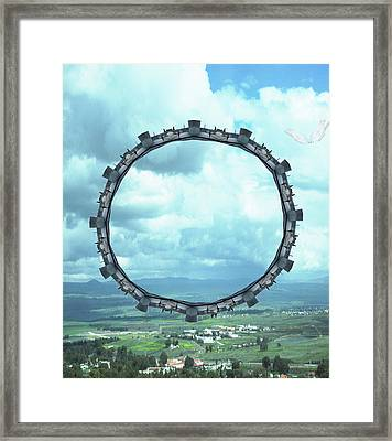 Framed Print featuring the photograph Wheel Of Fortune by Karni Dorell