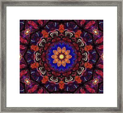 Wheel Of Time Framed Print