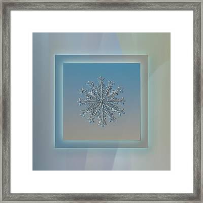 Wheel Of Time - Pastel Frame Framed Print by Alexey Kljatov