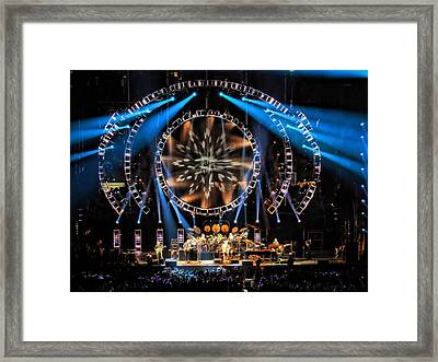 Wheel To The Storm Framed Print