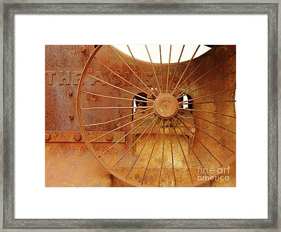 Wheels Of Progress #2 Framed Print