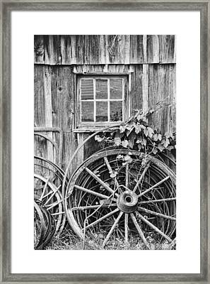 Wheels Wheels And More Wheels Framed Print