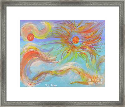 When A Star Is Born Framed Print