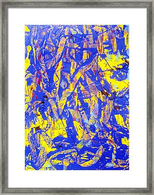 When A Tree Falls Alone In A Forest 2 Framed Print by Bruce Combs - REACH BEYOND