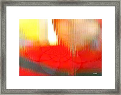 When Bad Turns Good Framed Print by Fania Simon