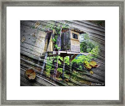 Framed Print featuring the photograph When Boys Dream by Brian Wallace