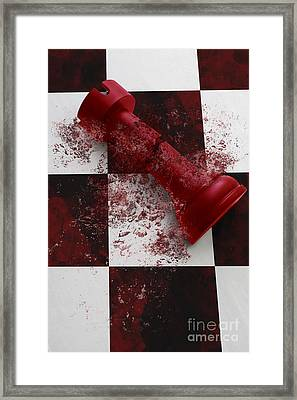 When Empires Fall Framed Print