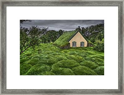 When Heaven Calls Your Name Framed Print by Evelina Kremsdorf
