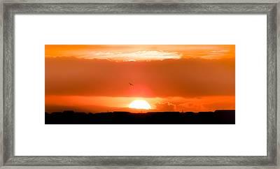 When His Glory Sings Framed Print by Karen Wiles