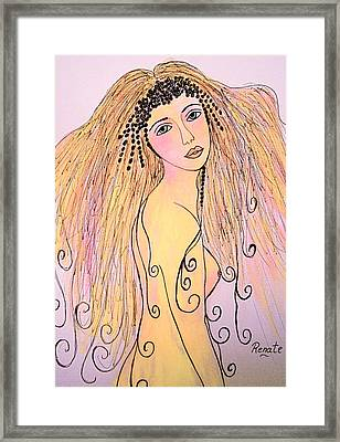 When I First Saw Her..... Framed Print