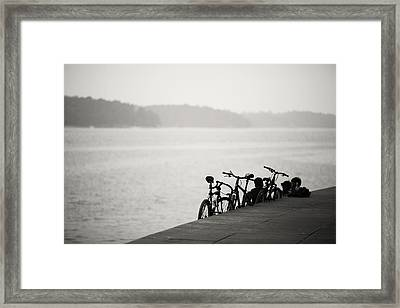 When I Grow Up Framed Print by Cho Me