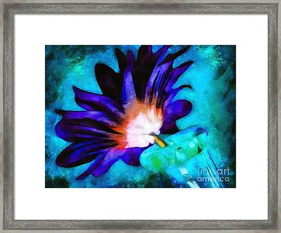 When I Think Of You Framed Print by Krissy Katsimbras
