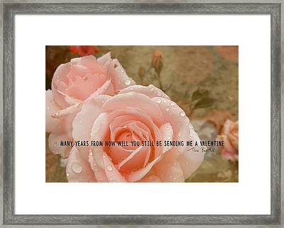 When I'm 64 Quote Framed Print by JAMART Photography