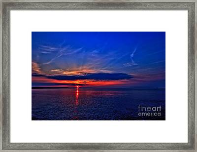 Framed Print featuring the photograph When I'm Feeling Blue by Baggieoldboy