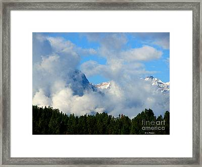 When Im Gone Framed Print by Greg Patzer