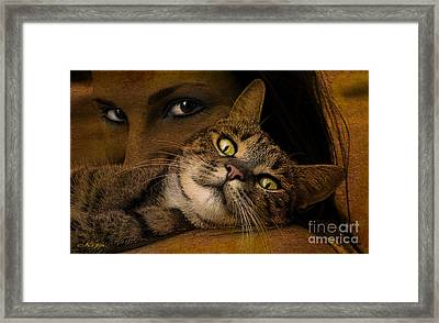 When I'm Too Tired To Walk Framed Print