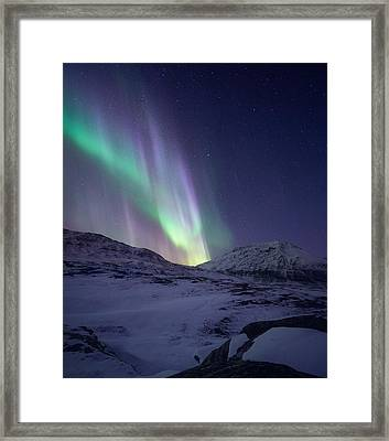 When It All Falls Down Framed Print by Tor-Ivar Naess
