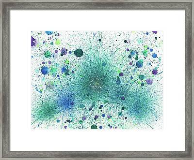 When It Is Dark Look For The Stars #165 Framed Print by Rainbow Artist Orlando L aka Kevin Orlando Lau