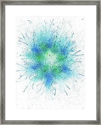When It Is Dark Look For The Stars #166 Framed Print by Rainbow Artist Orlando L aka Kevin Orlando Lau