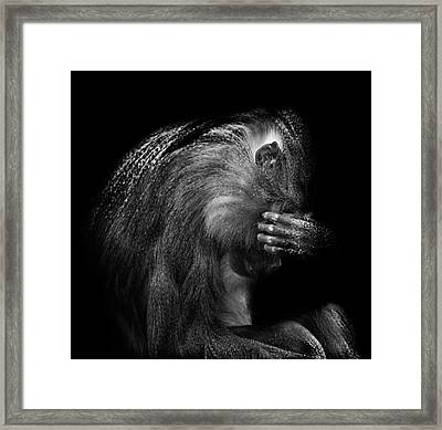 When Its All To Much Framed Print