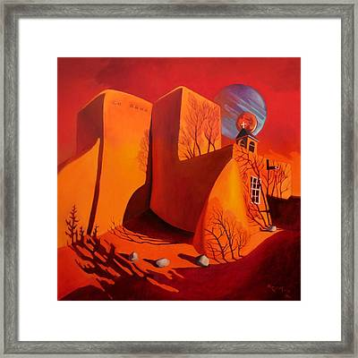 When Jupiter Aligns With Mars Framed Print by Art West