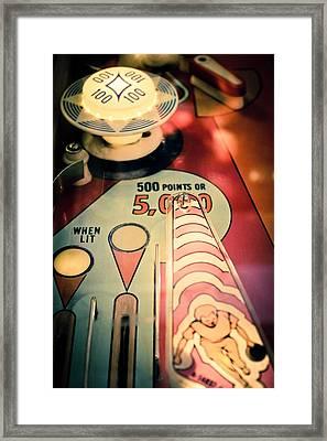 King Pin - Pinball Framed Print