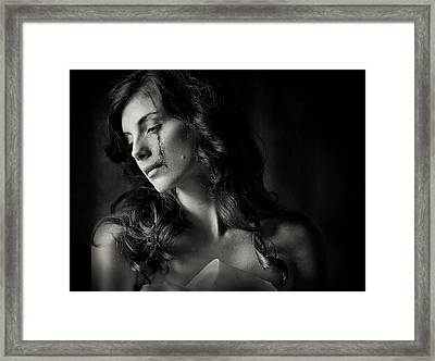 When Love And Hate Collide Framed Print