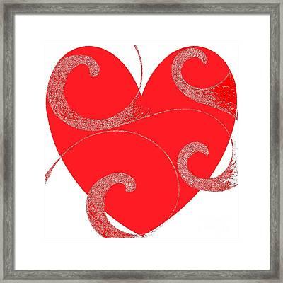 When Love Flows Free Framed Print