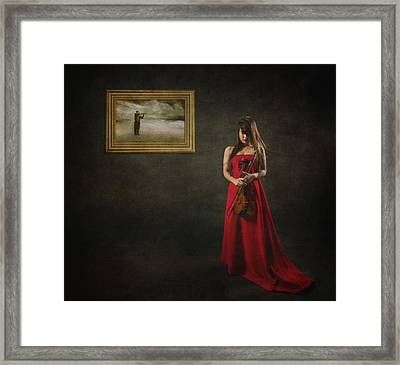 When Memories Never Want To Go Framed Print by Heru Agustiana