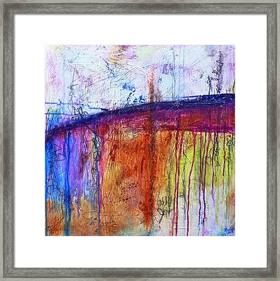 When My Mind Is Free Framed Print