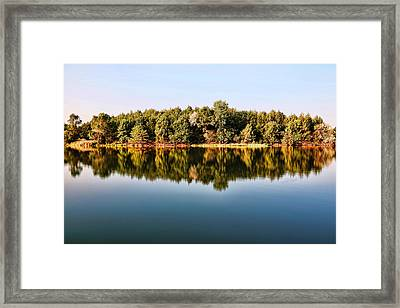When Nature Reflects Framed Print by Bill Kesler