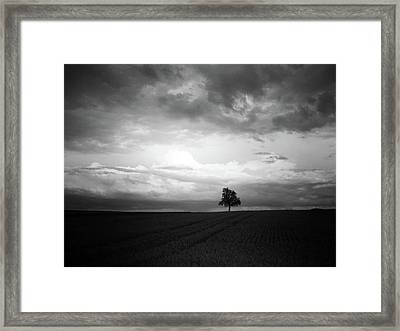 When Night Falls Framed Print