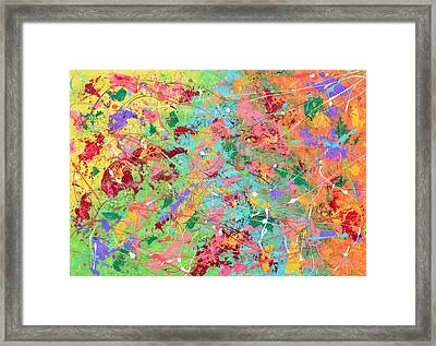 When Pollock Was Happy Framed Print