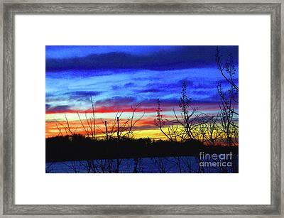 When Rainbows Sleep Framed Print by Robyn King