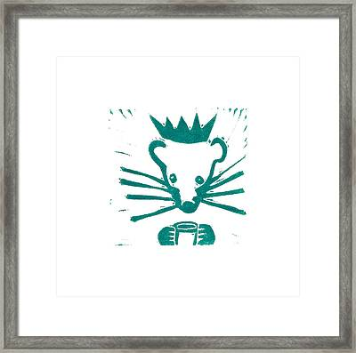 When Rats Ruled #3 Framed Print